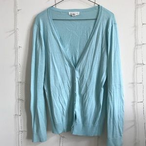 Forever 21 bright blue cardigan